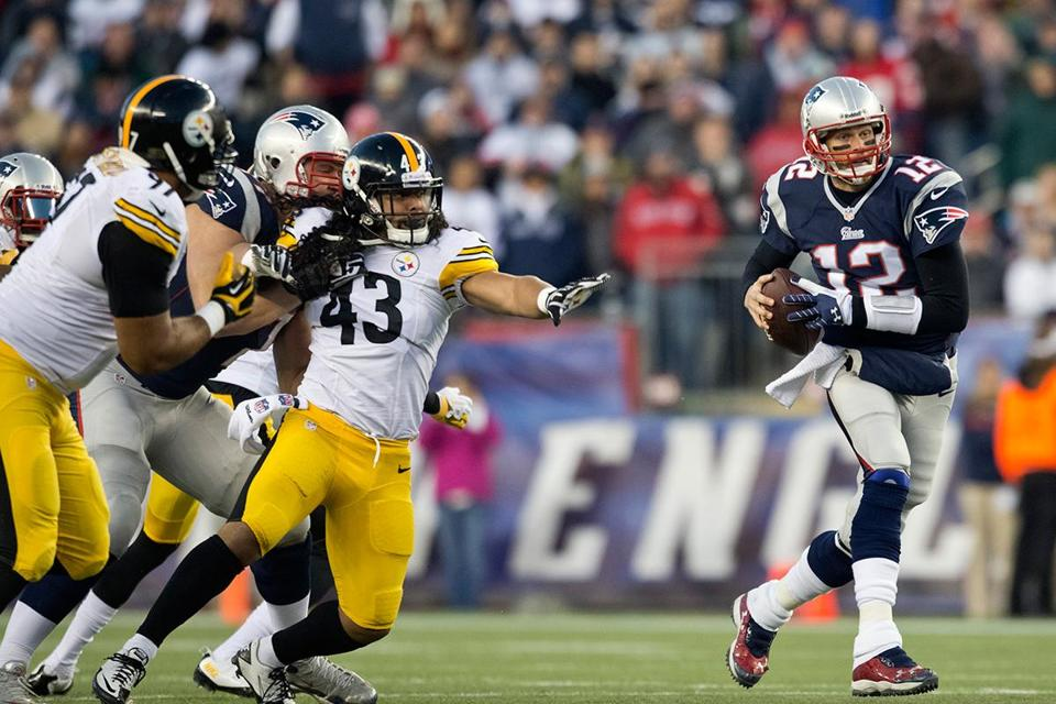 The Steelers' defense couldn't come close to stopping Tom Brady and the Patriots.