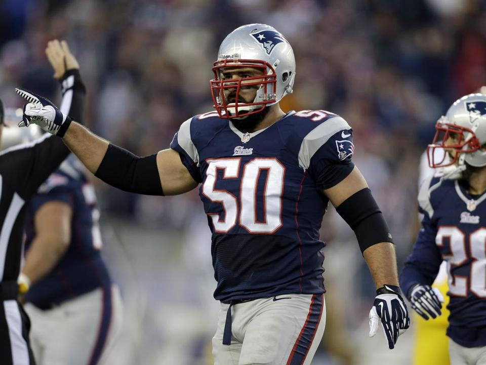 Three Patriots, Rob Ninkovich included, left the game with injuries, and none returned to the game.