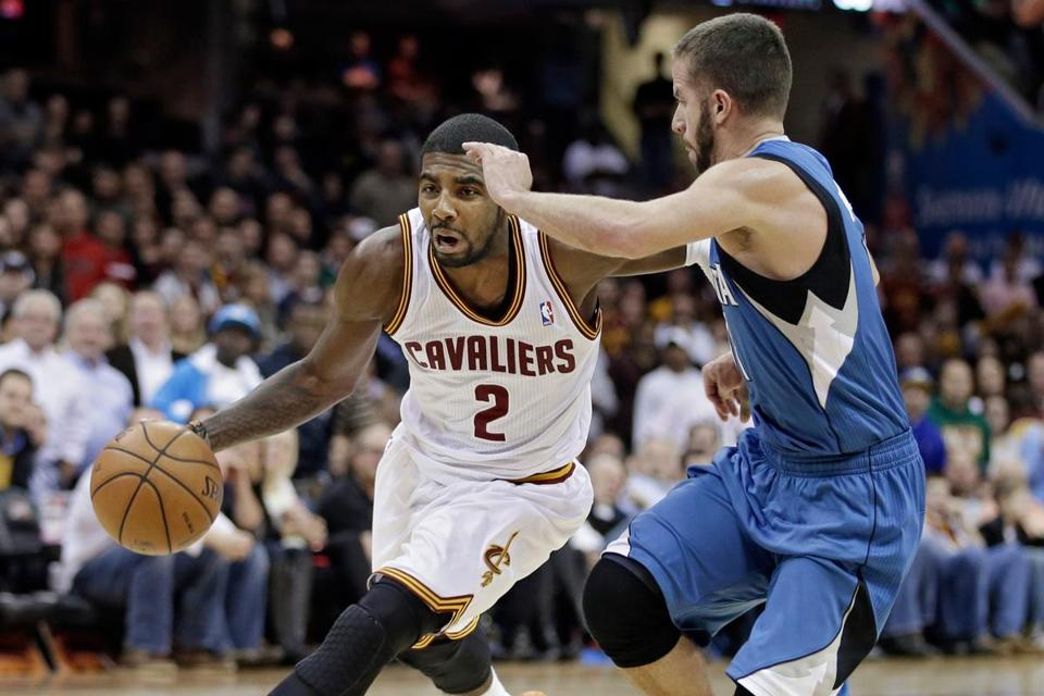 Kyrie Irving had 15 points for the Cavaliers Monday night.