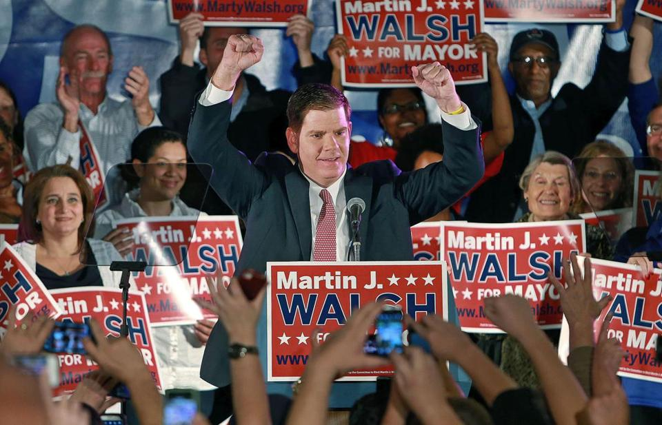 State Representative Martin J. Walsh, Democrat of Dorchester, celebrated Tuesday after becoming mayor-elect. Now it's time for the city to tell Walsh what it wants from its new chief executive, writes Yvonne Abraham.