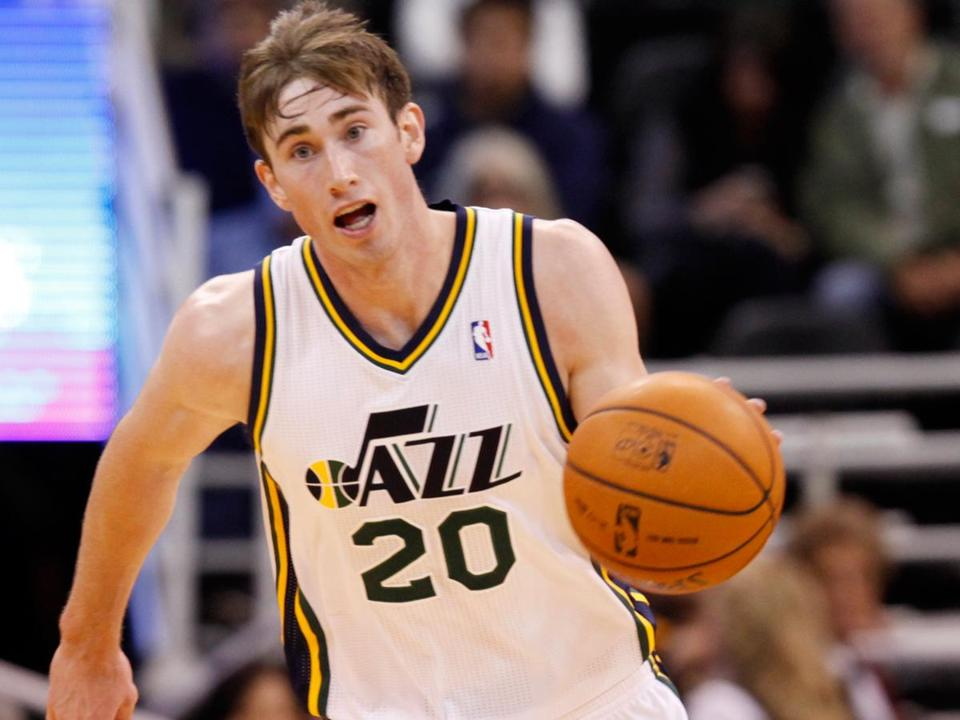 Utah's Gordon Hayward will be a restricted free agent at season's end.