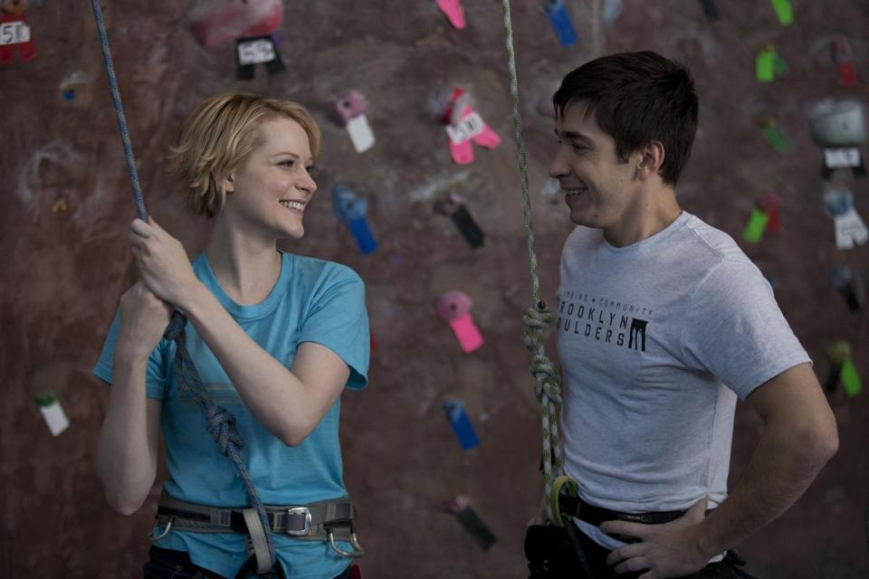 "Evan Rachel Wood and Justin Long in ""A Case of You."""