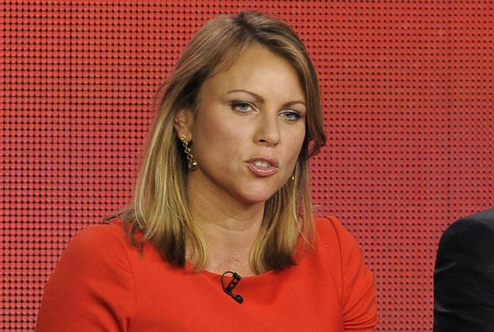 """60 Minutes"" reporter Lara Logan took part in a panel discussion at the Showtime Winter TCA Tour in Pasadena, Calif."