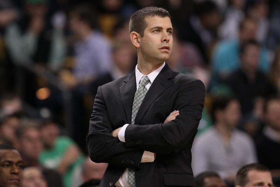 Just because Celtics coach Brad Stevens remains even-keeled does not mean his competitive fires aren't burning.