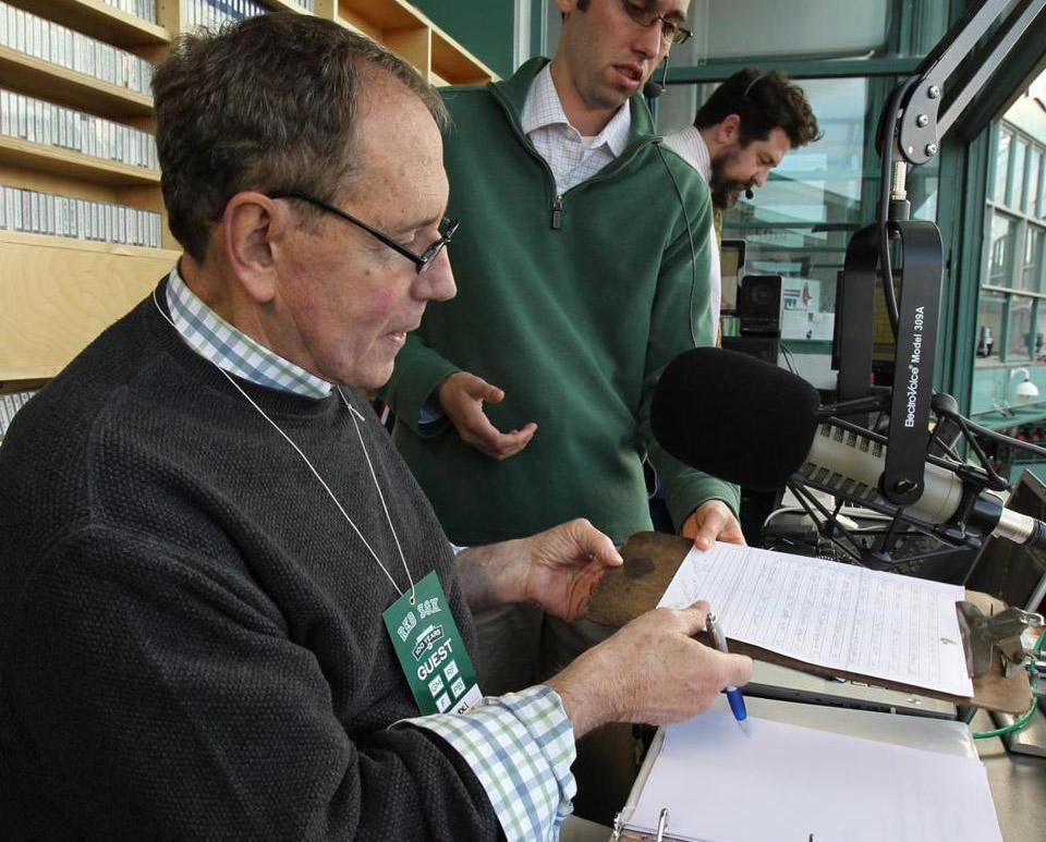 Among his more recent duties, former Channel 4 sports anchor Bob Lobel has occasionally served as the voice of Fenway Park.