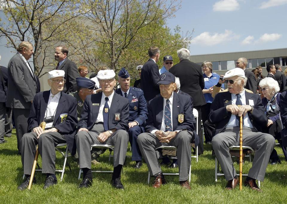 The four surviving members of the Doolittle Raiders of  World War II met last year. Most of them gathered for a final toast Saturday at the national Air Force museum in Ohio.