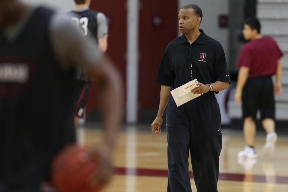 Coach Tommy Amaker doesn't want to hear any talk of his Crimson going undefeated.