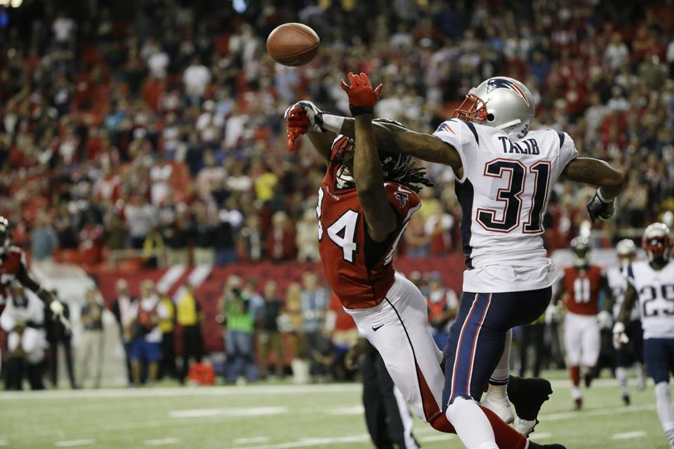 Talib suffered a hip injury in the second half of the Week 6 win over the Saints.