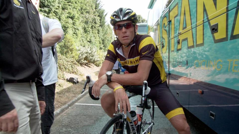 "In ""The Armstrong Lie,"" Lance Armstrong appears in footage shot both before and after he confessed to cheating at cycling."