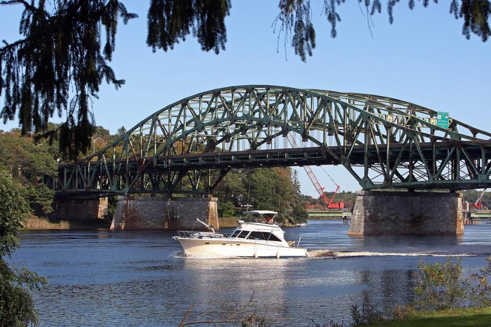 The Whittier Bridge, a landmark for travelers on Interstate 95 just south of the New Hampshire line, was built in 1951.