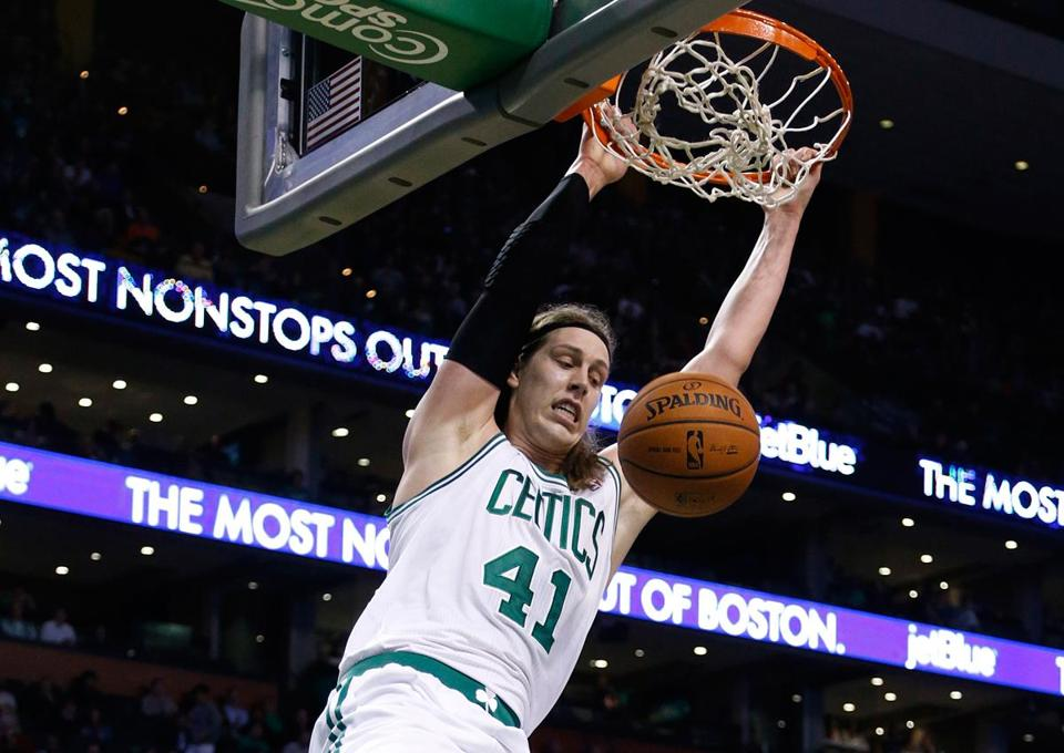 Monday night's win was a slam dunk thanks in part to Kelly Olynyk.