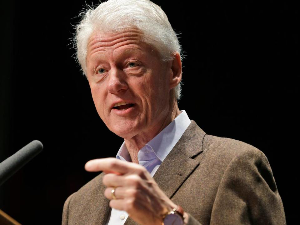 """The president should honor the commitment the federal government made,"" Bill Clinton said."