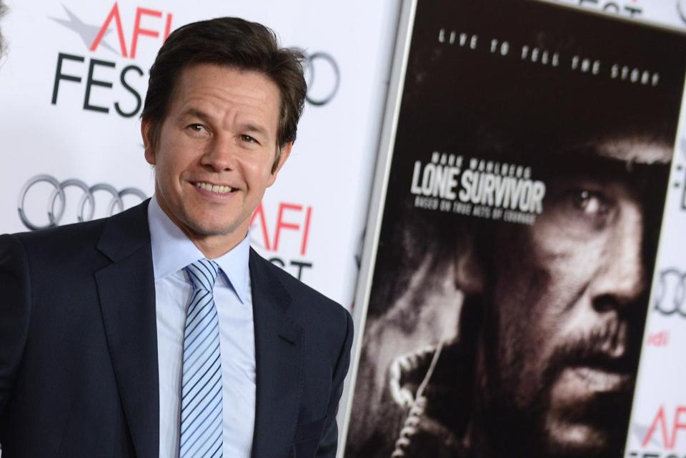 Mark Wahlberg in Los Angeles in 2013.
