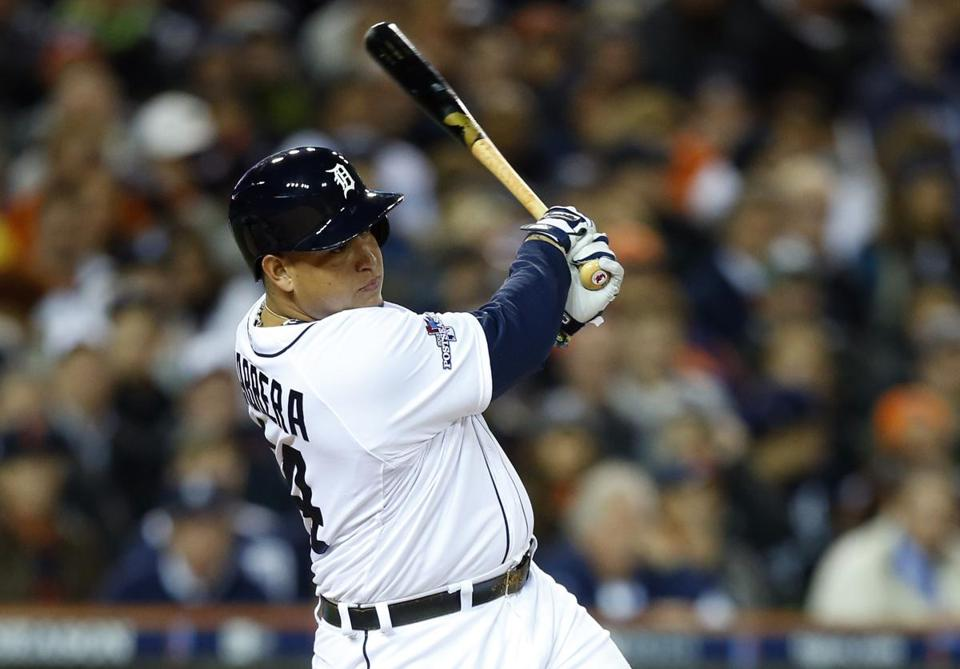 Tigers slugger Miguel Cabrera won the American League Most Valuable Player award for the second straight year.