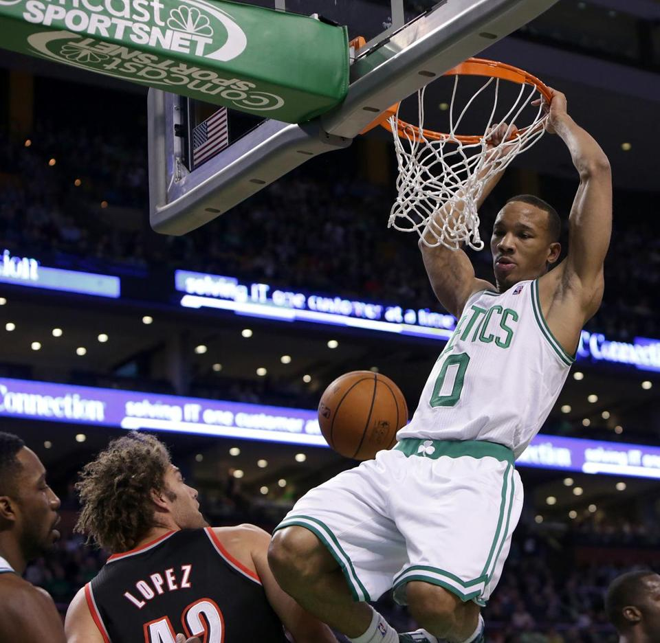 Avery Bradley has averaged 15 points in the past two games, including a 27-point effort against the Spurs.