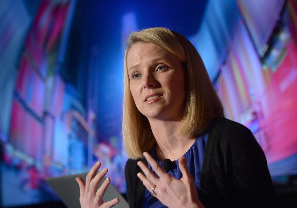 Yahoo has not given access to its data centers to the NSA or other agencies, CEO Mayer says.