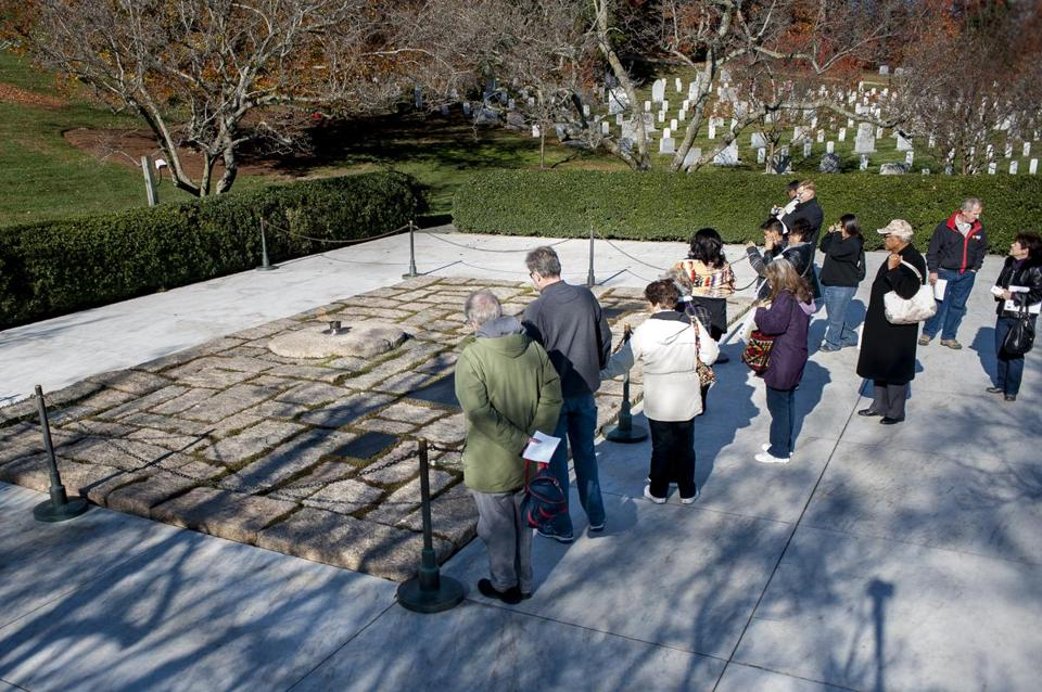 A commemoration will be held at John F. Kennedy's grave in Arlington National Cemetery on Wednesday.
