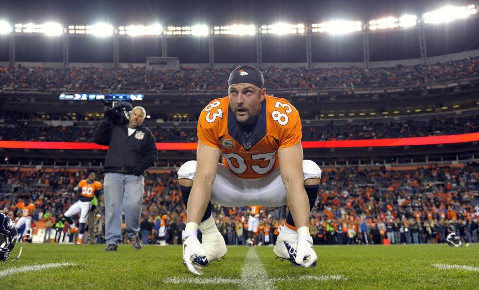 The availability of Wes Welker (61 catches, 648 yards, 9 TDs) is in doubt after he sustained a concussion Sunday.