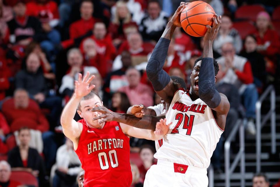Montrezl Harrell had 20 points and nine rebounds for Louisville.