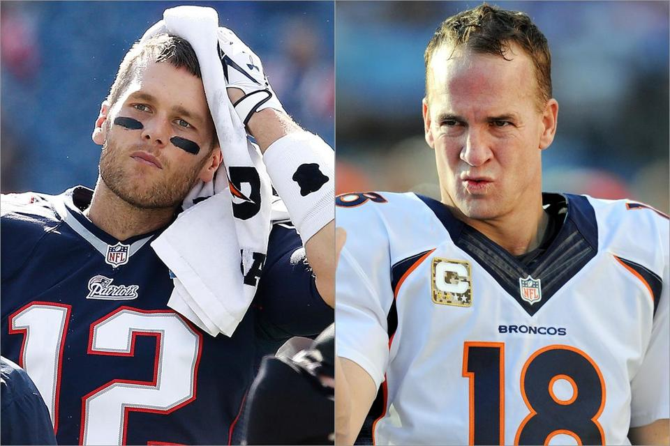 Advances in areas such as training and nutrition mean that athletes such as 36-year-old Tom Brady and 37-year-old Peyton Manning can stay at the top of their games longer.