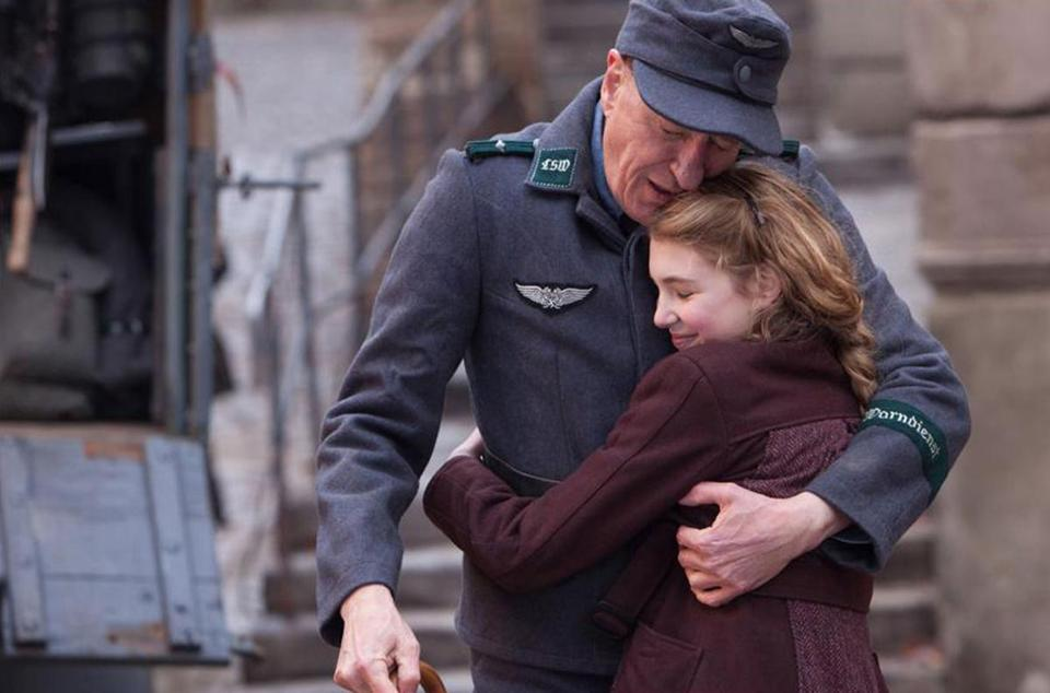 Geoffrey Rush and Sophie Nélisse star in a tale of WWII Germany as seen through the eyes of a young girl.