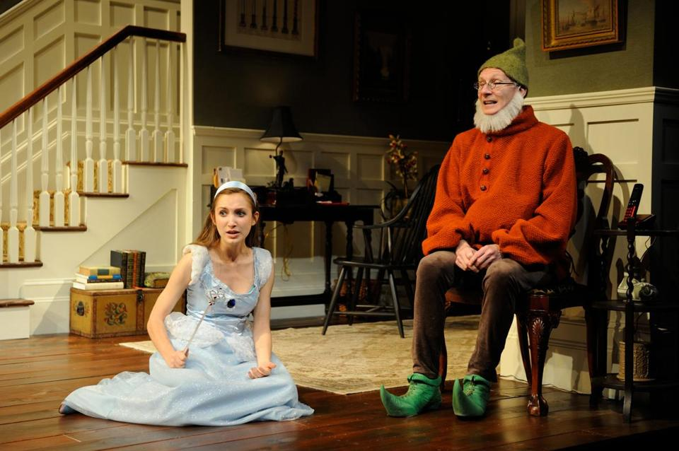 "Sylvia Kates and Brian McEleney in ""Vanya and Sonia and Masha and Spike."""