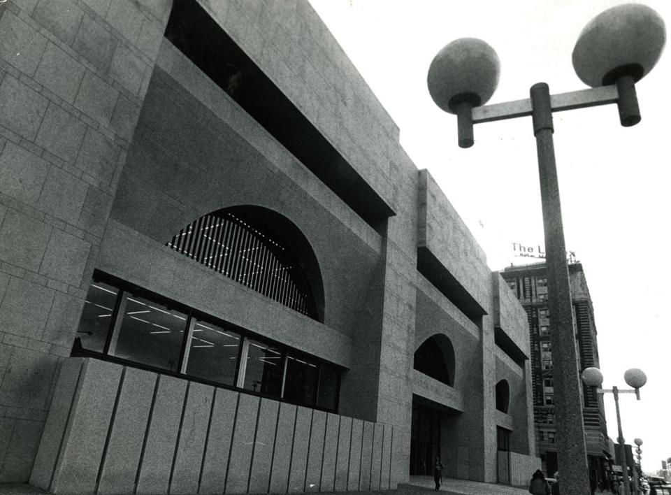 The Johnson wing of the Boston Public Library opened in 1972.