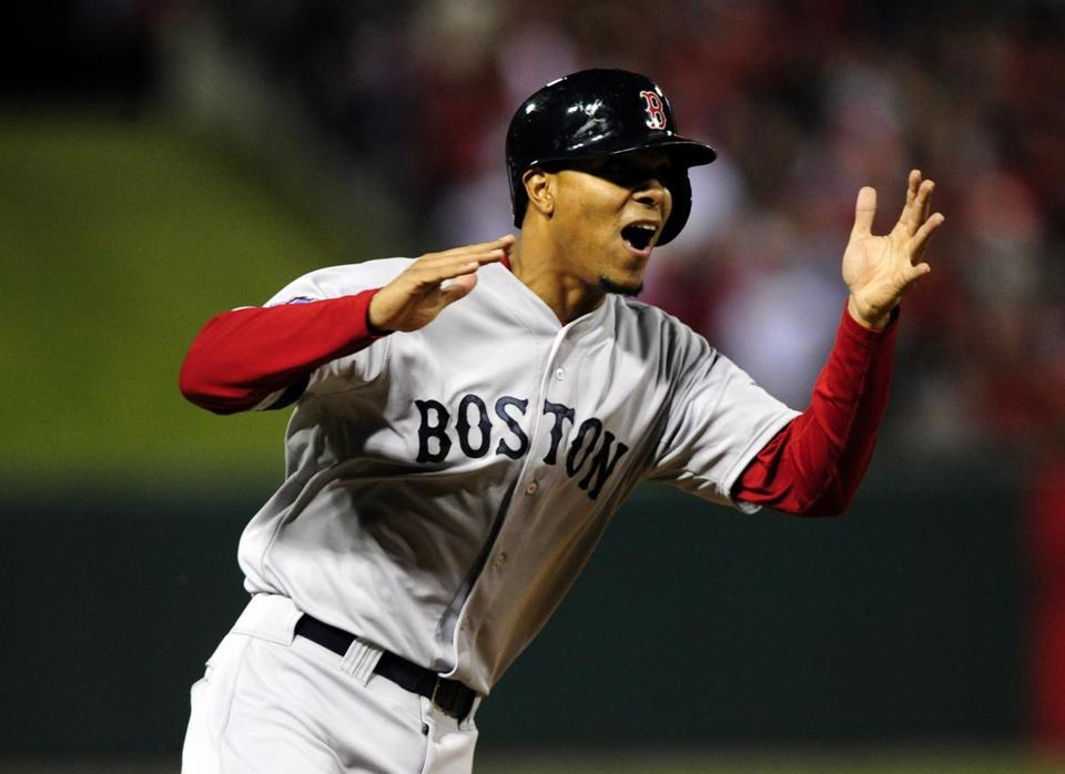 Xander Bogaerts helped the Red Sox to a World Series title in his first season.