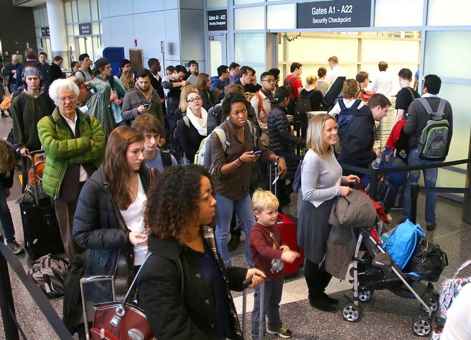 Logan International Airport officials expect to set a passenger record for the third year in a row.