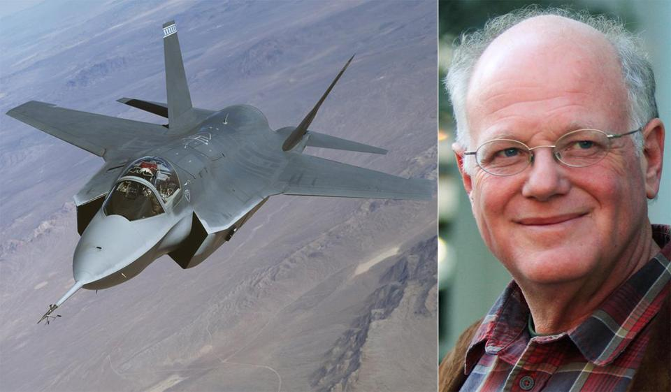 Ben Cohen, cofounder of Ben & Jerry's ice cream company, has opposed the F-35 jet, which may be based in Vermont near Burlington.