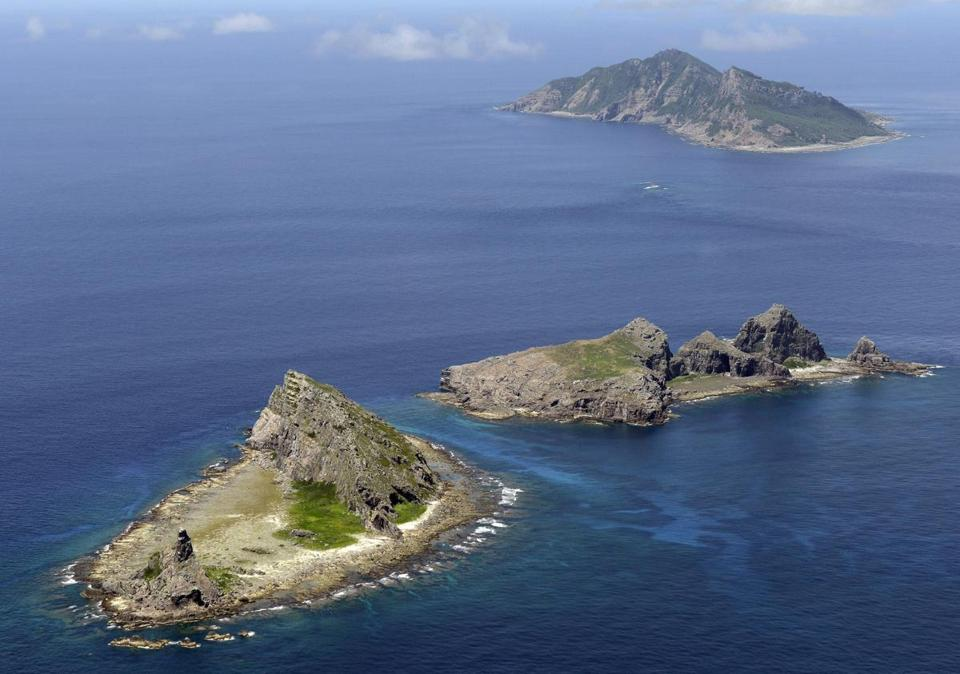 Tiny islands in the East China Sea, called Senkaku in Japanese and Diaoyu in Chinese.
