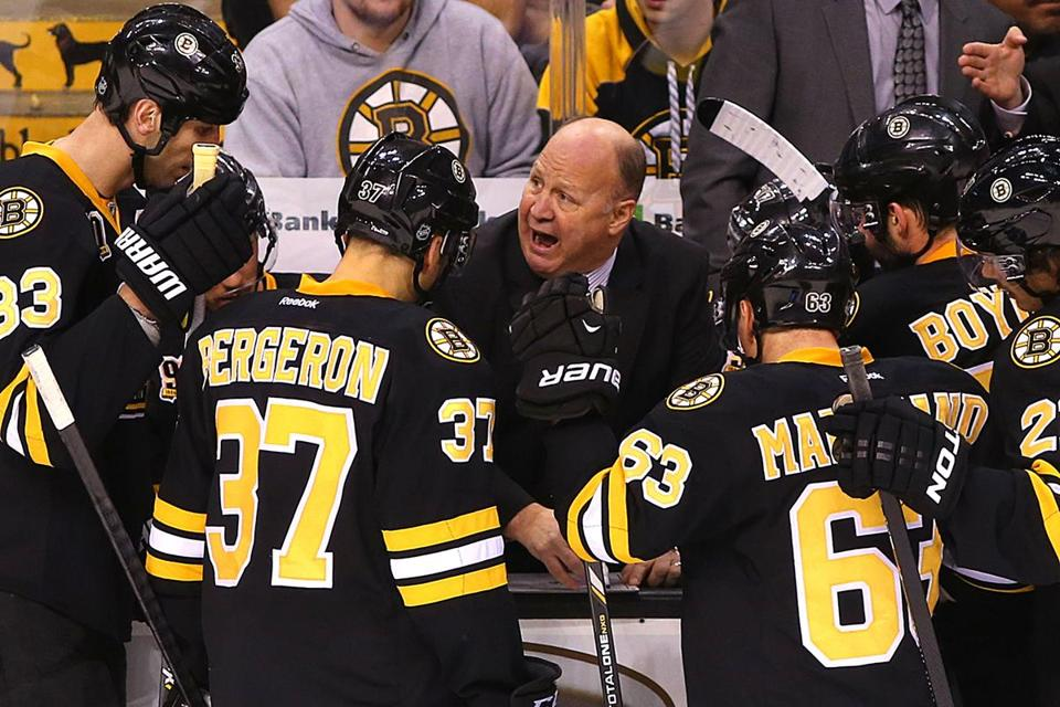 Claude Julien said that he has learned to manage his time,  getting the Bruins ready for their games, and spending the rest of it making preparations for the Olympics.