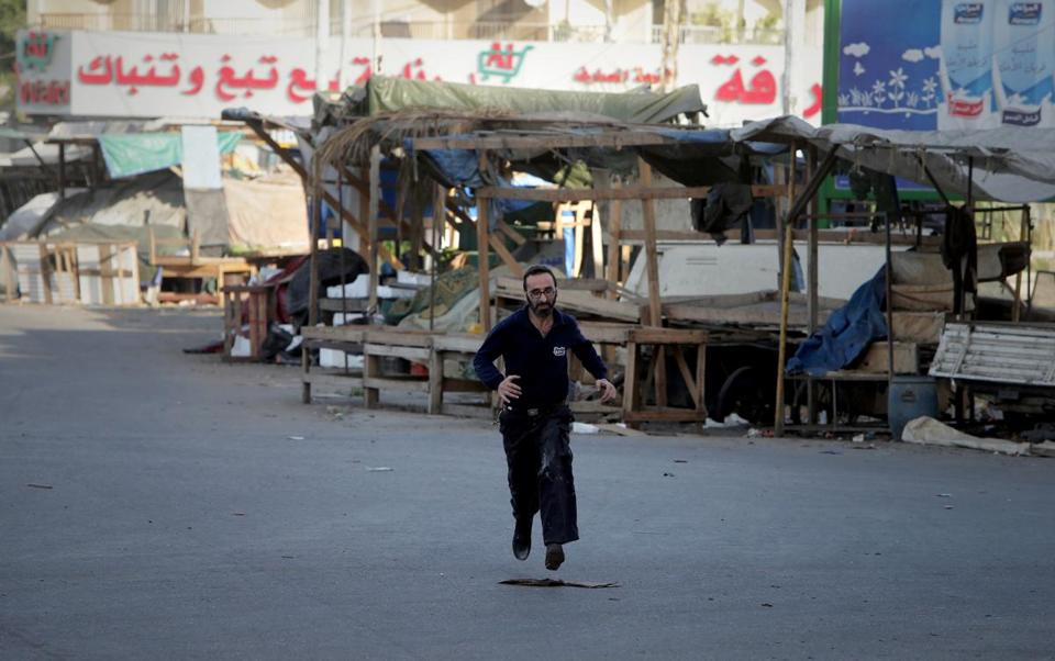An area in Tripoli, Lebanon, has been the scene of clashes between backers of Syria's leader and Sunni Muslims.