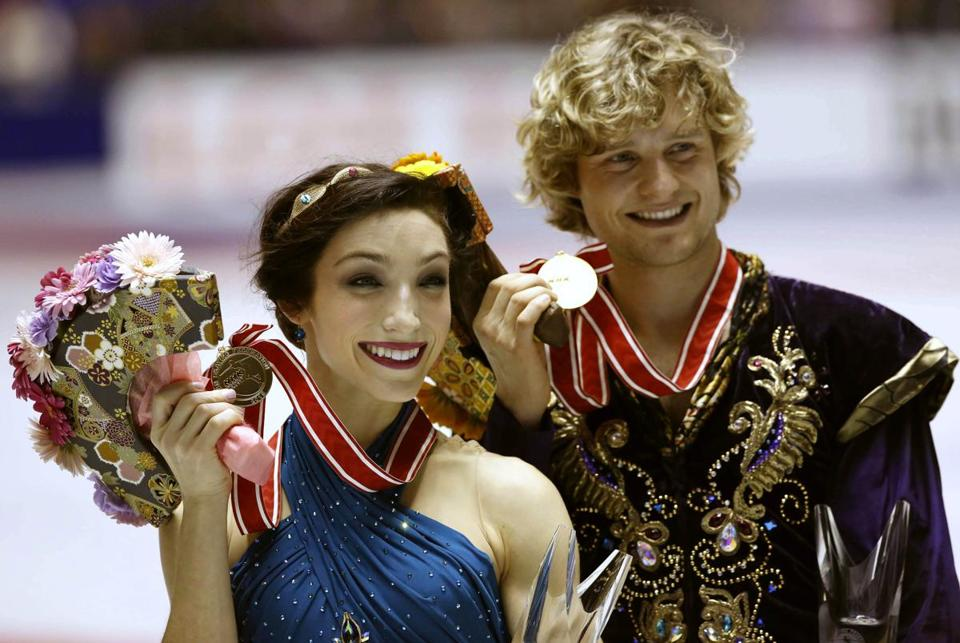Meryl Davis and Charlie White are taking aim at their fifth straight Grand Prix title.