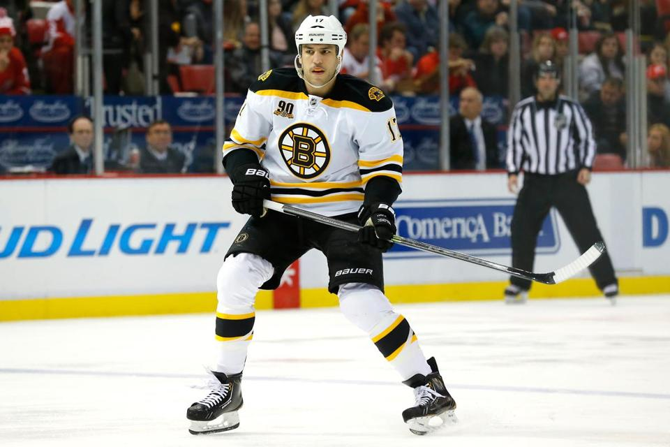 """That's when it gets real tough,"" forward Milan Lucic said about playing on the road."