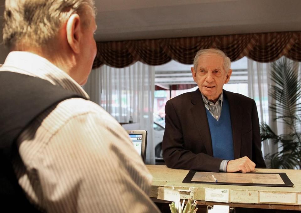 A recent visit to the Howard Johnson Inn on Boylston Street for owner Bob Sage included a chat with manager Paul Dunleavy, who is preparing the Fenway landmark for closing at the end of the month.