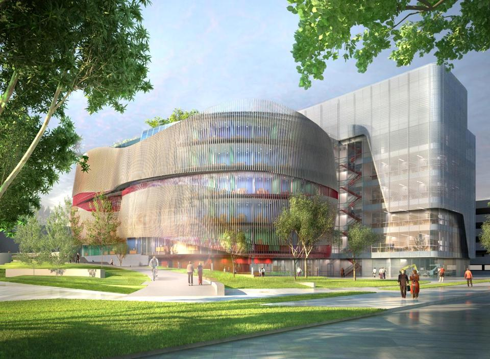 Northeastern University plans to build the $225 million science and engineering center on a site now set for parking.