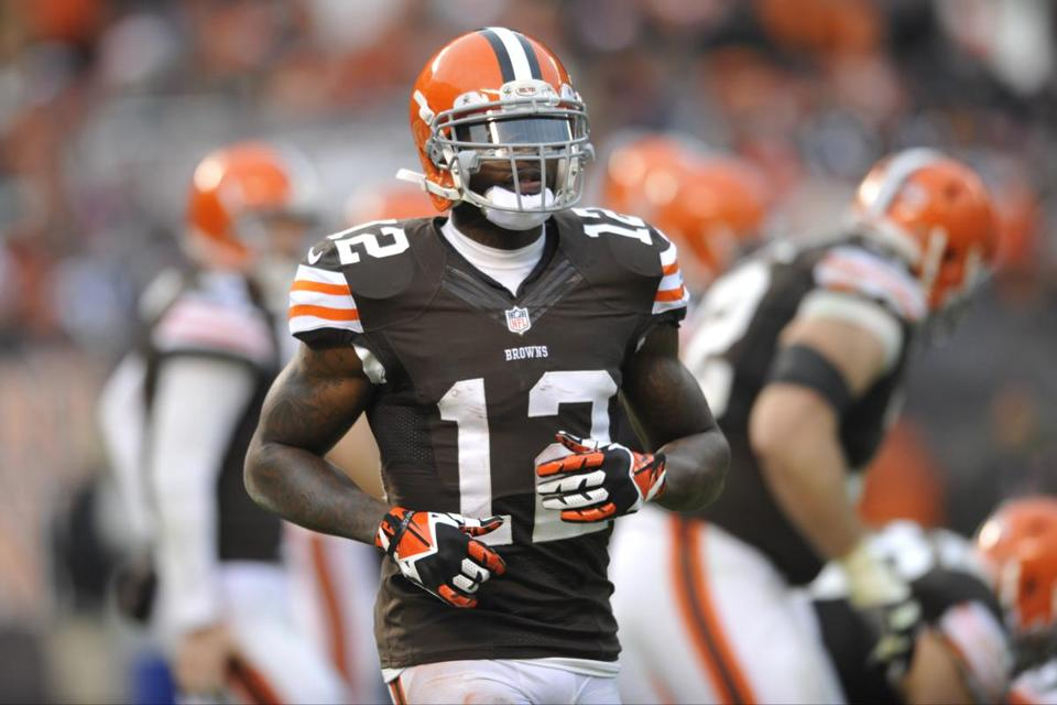 Browns wide receiver Josh Gordon has seven touchdowns this year and is second in the NFL with 1,249 receiving yards.