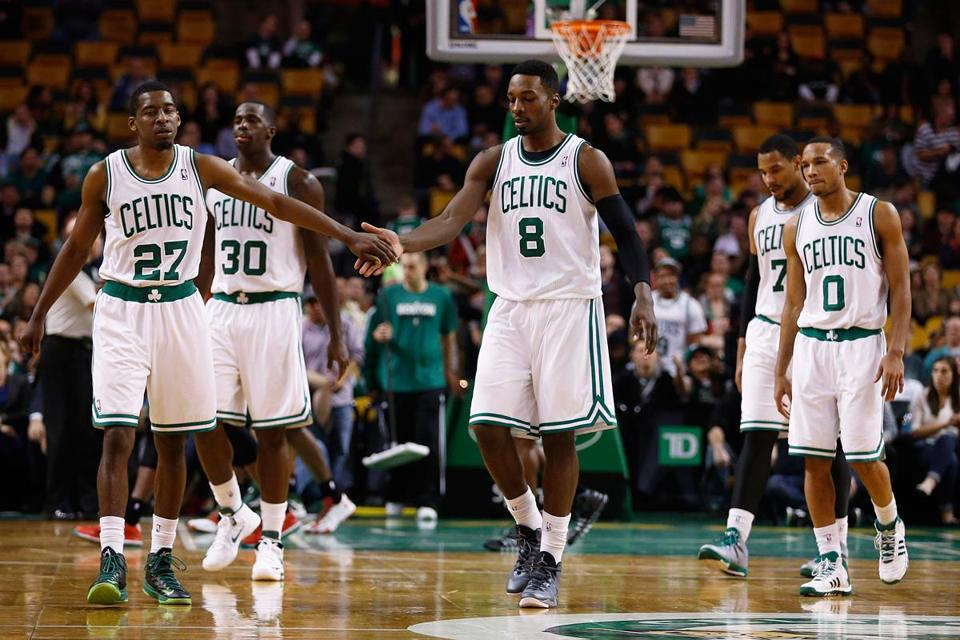 The rebuilding Celtics are leading the Atlantic Division with an 8-12 record.