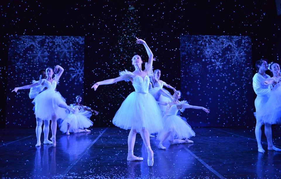 "Madeline Bonn as the Snow Queen in José Mateo Ballet Theatre's ""The Nutcracker."""