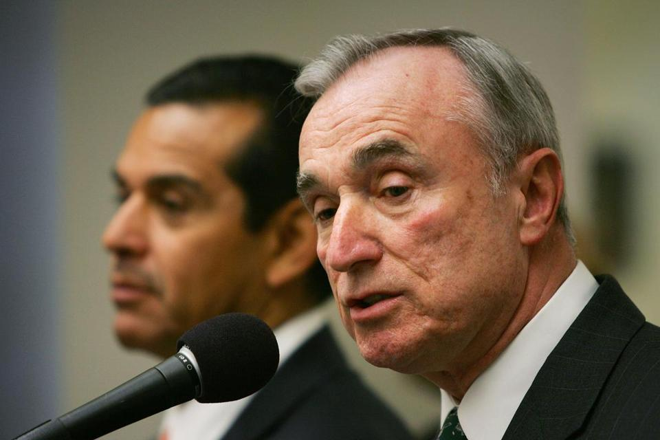 William Bratton has led the Boston and Los Angeles police departments in addition to his role as former commissioner of the New York Police Department.