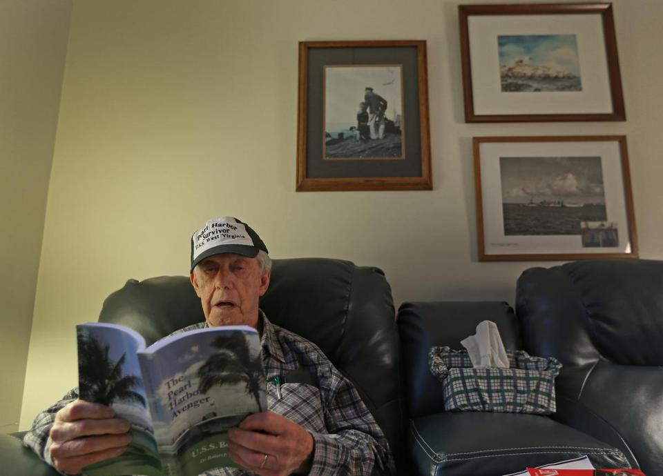 William Keith, of Quincy, was aboard the USS West Virginia when it was attacked on Dec. 7, 1941.