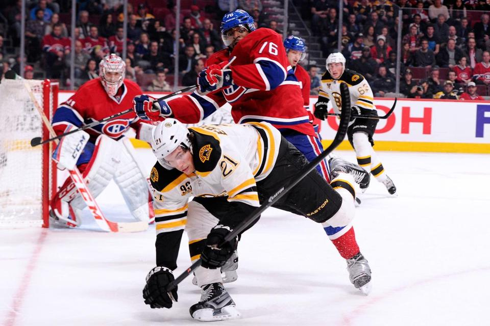 P.K. Subban and the Canadiens muscled past Loui Eriksson and the Bruins on Thursday.