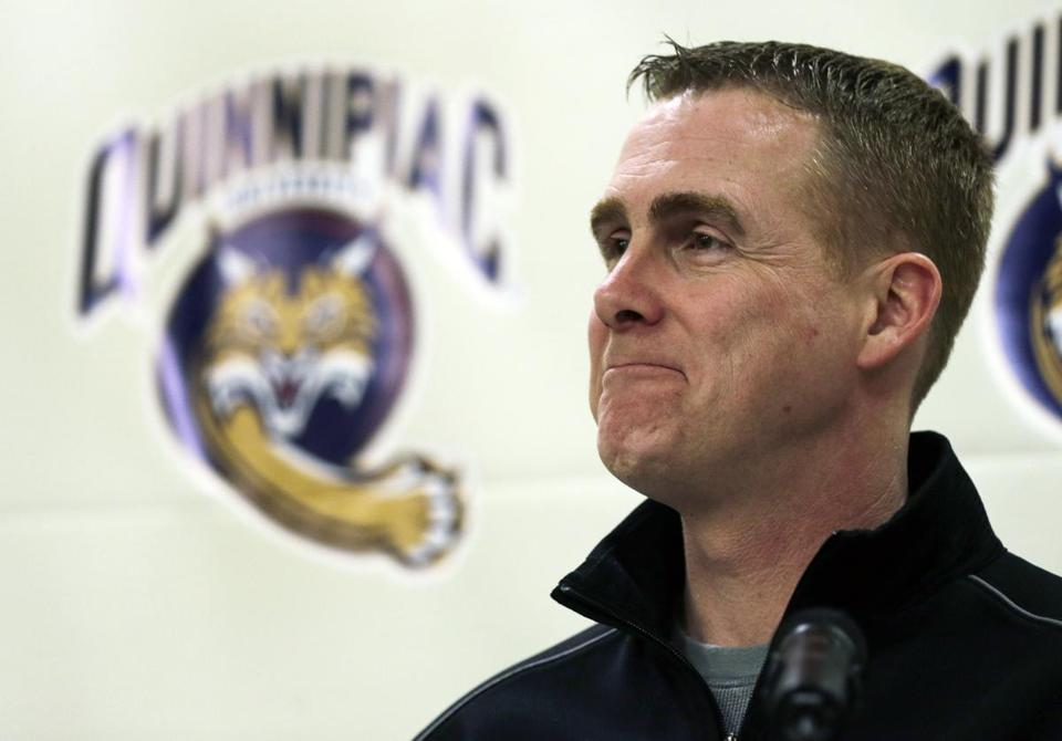 "Quinnipiac coach Rand Pecknold offered an understated response to his team's strong start. ""It's been a good first half of the year,'' he said."