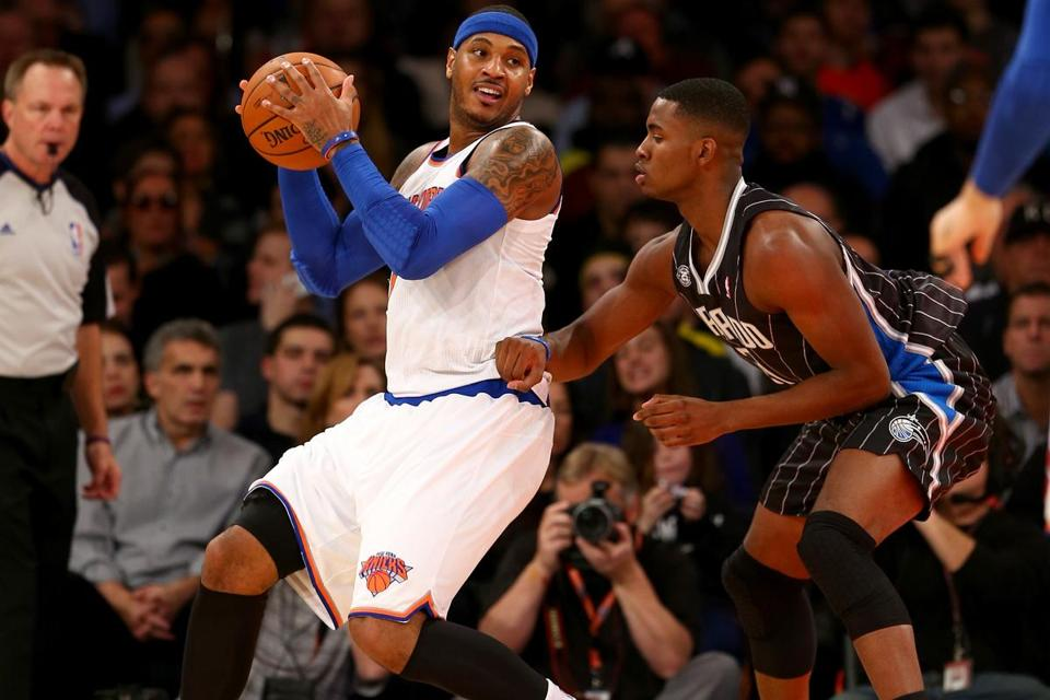 Carmelo Anthony has already said he will opt out of his contract and become an unrestricted free agent this summer, putting his Knicks' status in limbo.