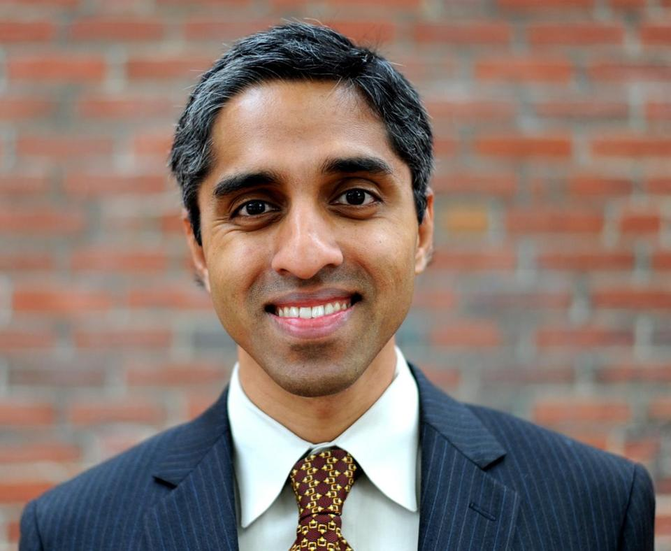 Vivek Hallegere Murthy tapped for top doctor.