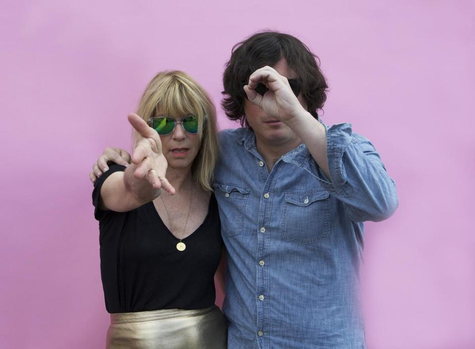 Kim Gordon and Bill Nace.