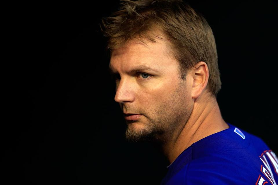 Catcher A.J. Pierzynski is excited to begin his first season with the Red Sox.