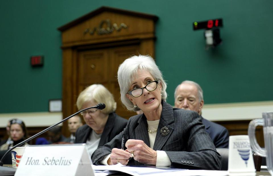 Health and Human Services Secretary Kathleen Sebelius told the House Energy and Commerce on Wednesday that the signup trend is turning positive.