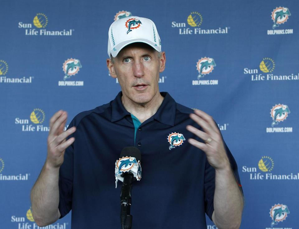 Dolphins coach Joe Philbin doesn't want to spend time reflecting on this season's turmoil.